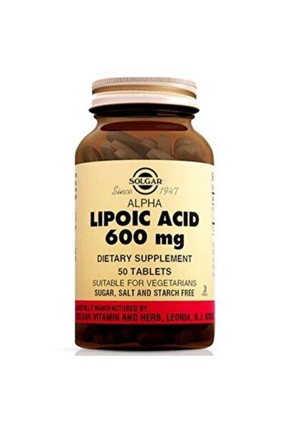 Sol-gar Alpha Lipoic Acid 600 Mg 50 Tablet