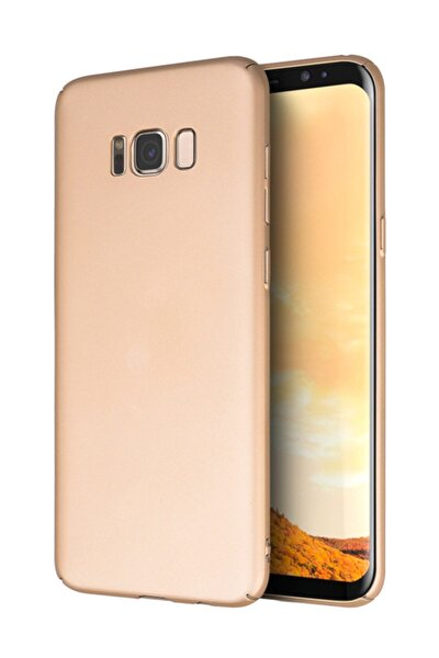 Samsung Galaxy S8 Plus Kılıf Premium Slim Gold