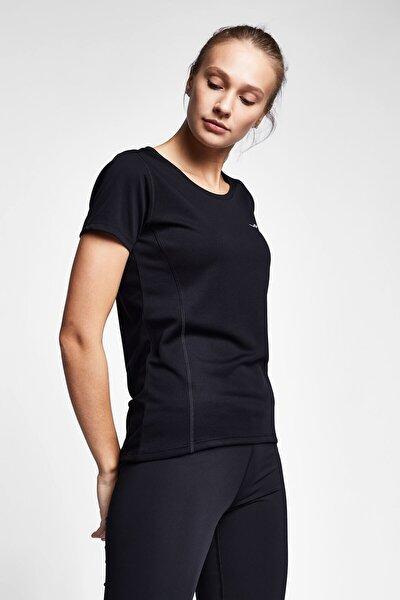 Siyah Kadın T-shirt 20s-2204-20n