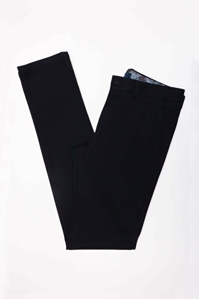 Erkek Lacivert Ekstra Slim  Pantolon