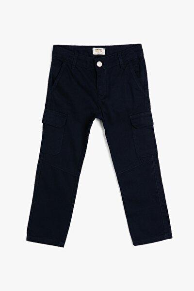 Erkek Çocuk Mavi Pantolon