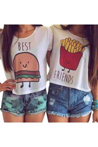 Hamburger Patates Best Friends Tshirt