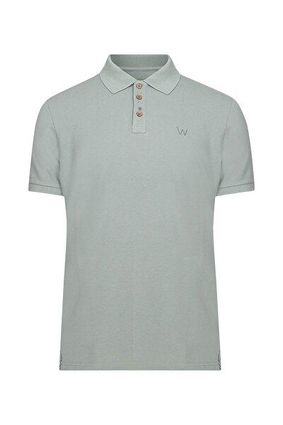 Erkek Yeşil Polo Yaka T-Shirt