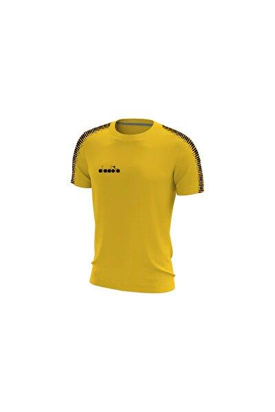 Erkek Sarı Ritim Antrenman Tişört