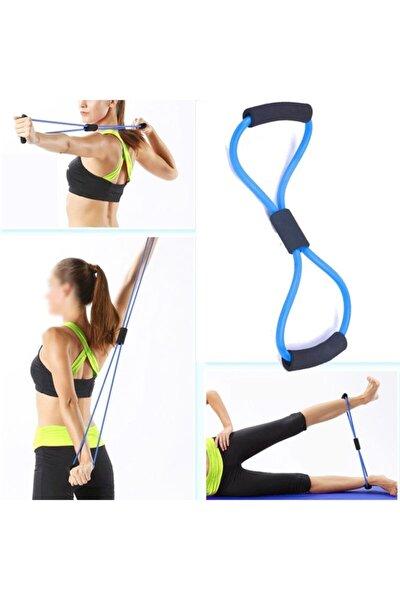 Pilates Direnç Lastiği Jimnastik Lastiği Egzersiz Yoga Plates