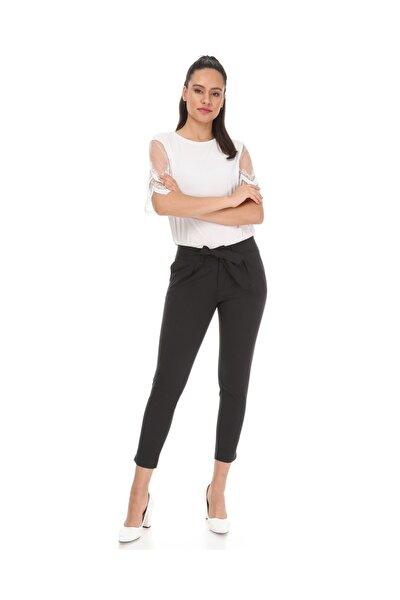 Kadın Siyah Havuç Pantolon