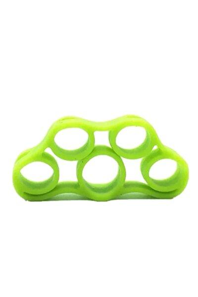 Silikon El ve Parmak Egzersiz Güçlendirici Hafif Direnç Yeşil
