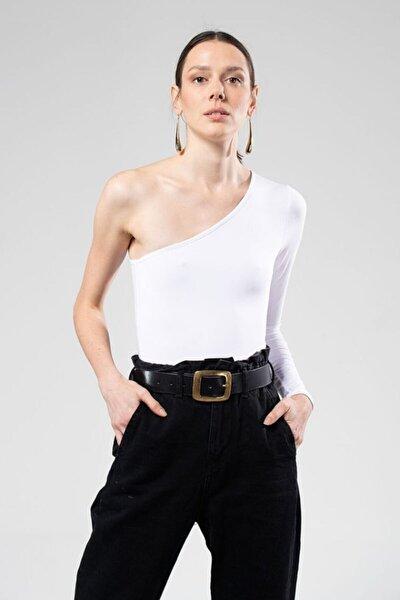 Kadın Beyaz Lena Bodysuit