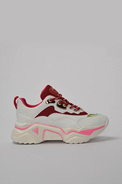 Beyaz Kadın Sneaker 01AYY184350A90M