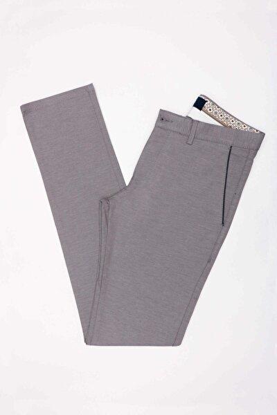 Erkek Gri Ekstra Slim Pantolon Jk31es12m004