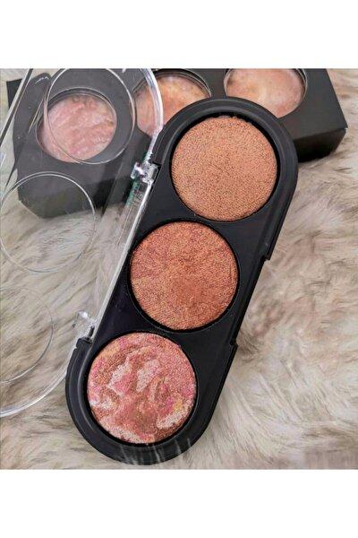 Rose 3'lü Terrakota Paleti Make-up