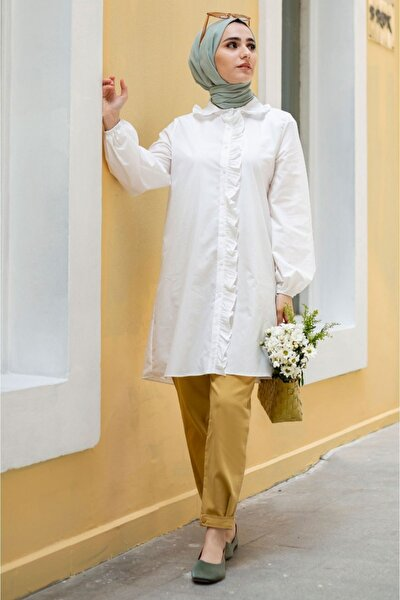 Gilda Beyaz Tunik