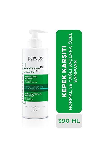 Dercos Anti-Dandruff Normal ve Yağlı Saçlar İçin Kepeğe Karşı Etkili Bakım Şampuanı 390 ml
