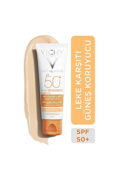 Ideal Soleil Spf50+ Anti-dark Spots 50 Ml