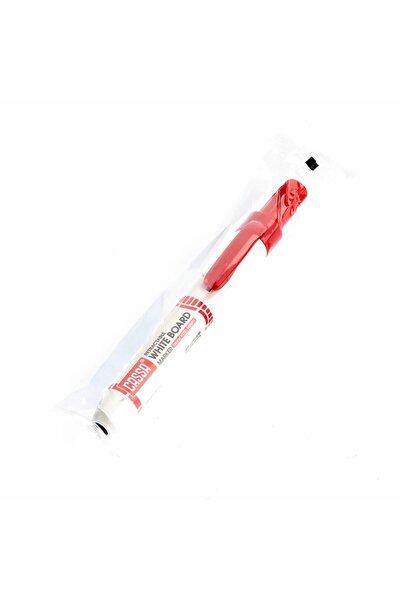 Kırmızı Basmalı Beyaz Tahta Kalemi