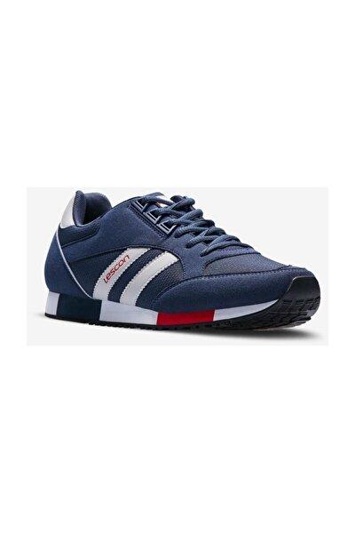 Erkek Lacivert Boston Sneaker Spor Ayakkabı