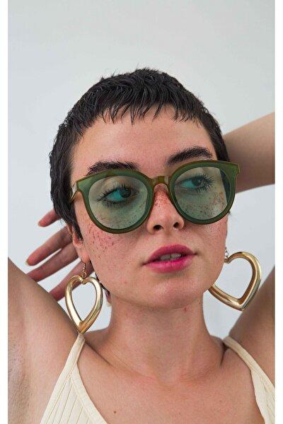 Kadın Yeşi lGüneş Gözlüğü