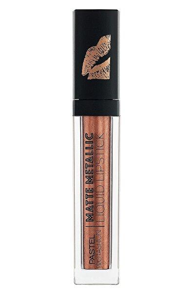 Profashion Matte Metallic Liquid Lipstick No 505 Golden Age - Mat Metalik Likit Ruj