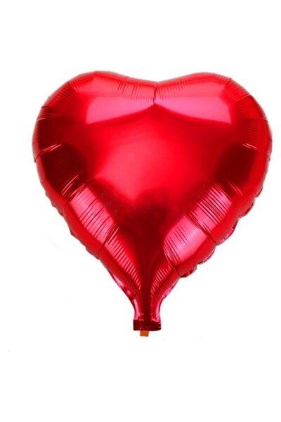 Folyo Kalpli Uçan Balon 1 Adet - Kırmızı Renk - Evlilik Teklifi Için Balon