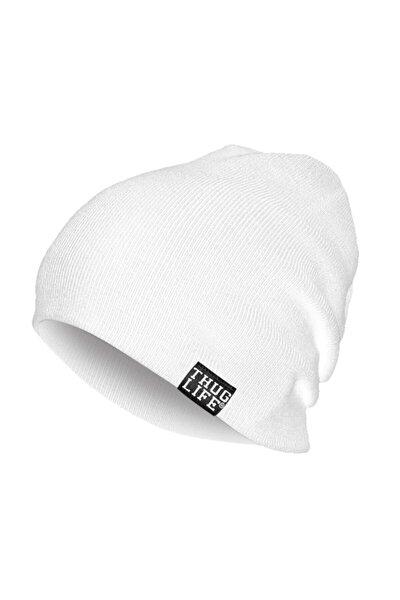 Triko Bere Beyaz