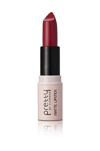 Pretty Matte Lipstick Red 09