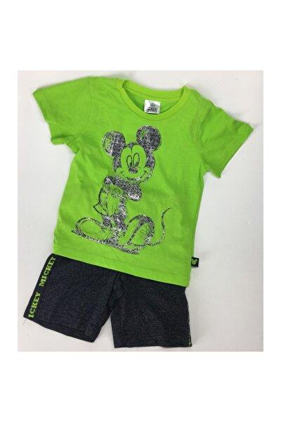 Disney Mickey Mouse Şortlu Takım 14027