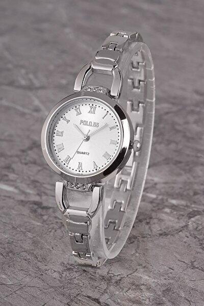 Plkm005r02 Kadın Saat Roma Rakamlı Şık Kadran Metal Kordon