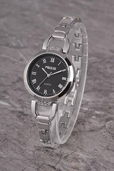 Plkm005r03 Kadın Saat Roma Rakamlı Şık Kadran Metal Kordon