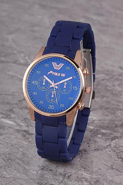 Plks001r02 Kadın Saat Dekoratif Göstergeli Kadran Silikon Kordon