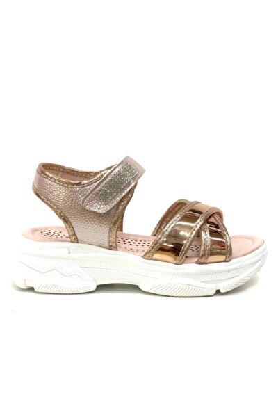 Kız Çocuk Altın Sandalet 204
