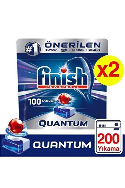 Quantum 100 Tablet Bulaşık Makinesi Deterjanı X 2 Adet
