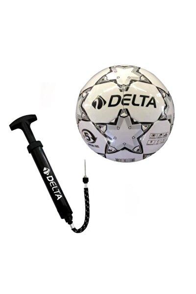 Stapler 5 Numara Dikişli Futbol Topu + Top Pompası