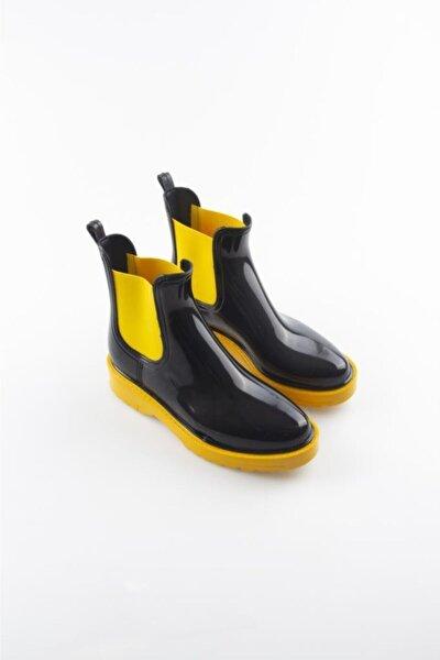 Kadın Sarı Yağmur Botu