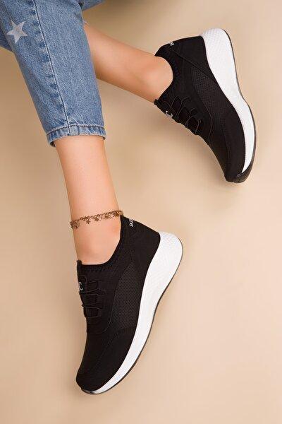 Siyah Kadın Sneaker 15226
