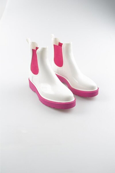 Kadın Pembe Yağmur Botu