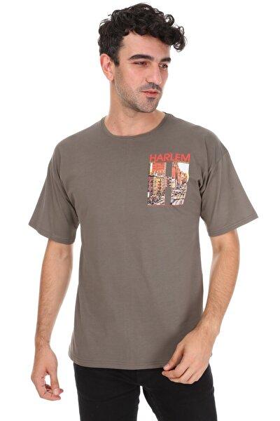 Haki Harlem Oversize Unisex T-shirt