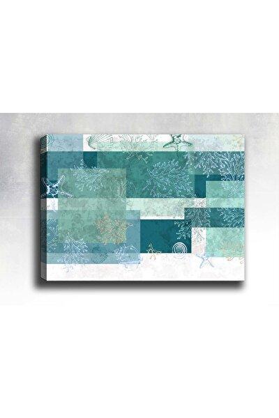 Abstract Kanvas Tablo 75x50 cm Sb-14006