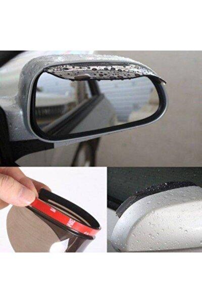 2 Adet Araç Oto Araba Ayna Yağmur Koruyucu Rüzgarlık Yağmurluk