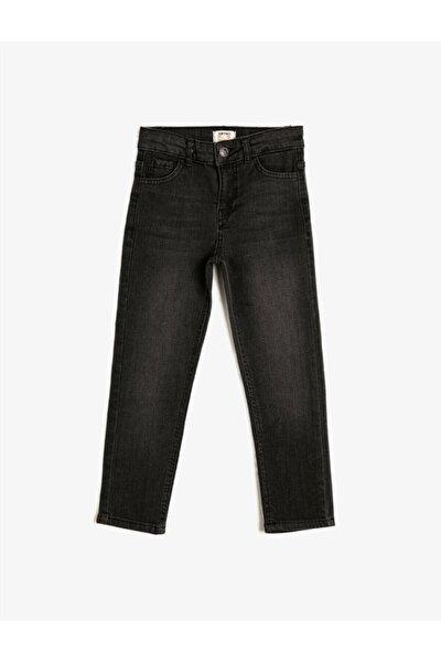 Erkek Çocuk Siyah Jean Pantolon