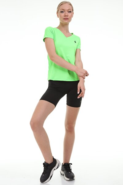 Fitness V Yaka Tişört