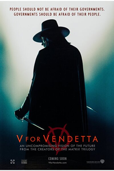 V For Vendetta (2006) 50 X 70 Jordımter
