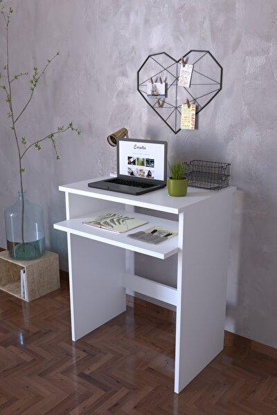Bilgisayar Pc   Çalışma Laptop Masası - Beyaz