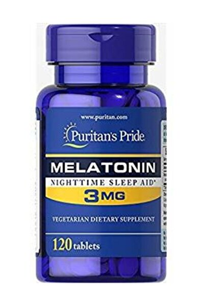 Puritans Pride Melatonin 3 mg 120 Tablet