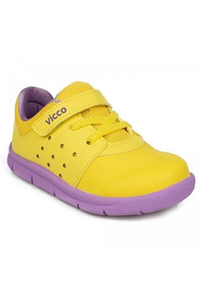 Kız Çocuk Sarı 346.e20k.153 Ilk Adım Phylon Ayakkabı Sneaker