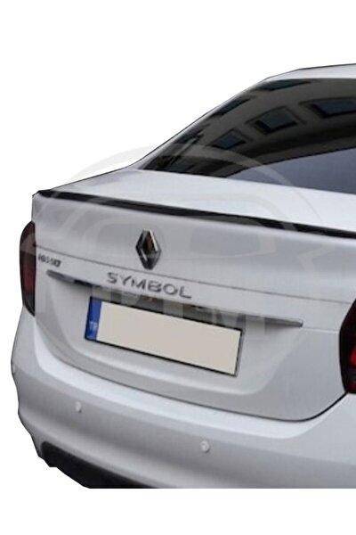 Renault Symbol 2013 Sonrası Bagaj Üstü Spoiler Piano Black