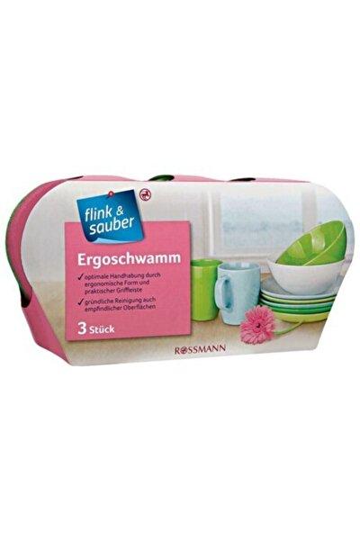 Flink & Sauber Ergonomik Sünger 3'lü