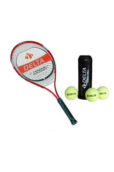 Max Joys 25 İnç Çocuk Tenis Raketi Tenis Maç Topu (3 Adet)