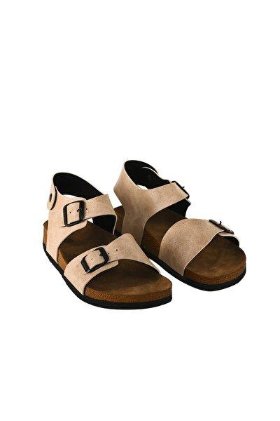 Unisex  Bej  Sandalet
