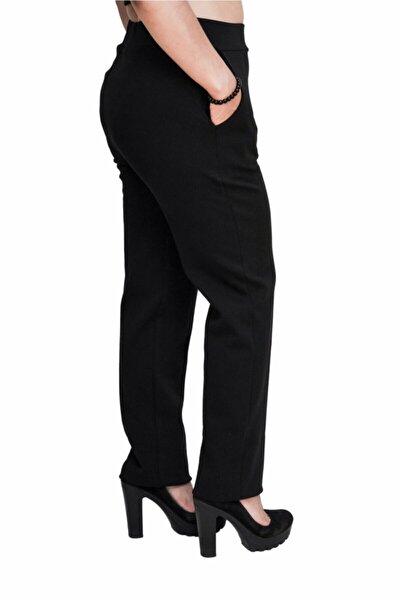 Kadın Siyah Kalem Pantalon