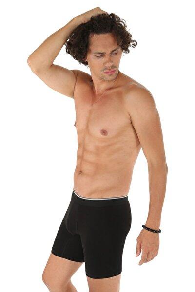 Uzun Likralı Erkek Boxer 1004